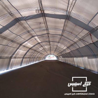 اسپیس فریم تونلی